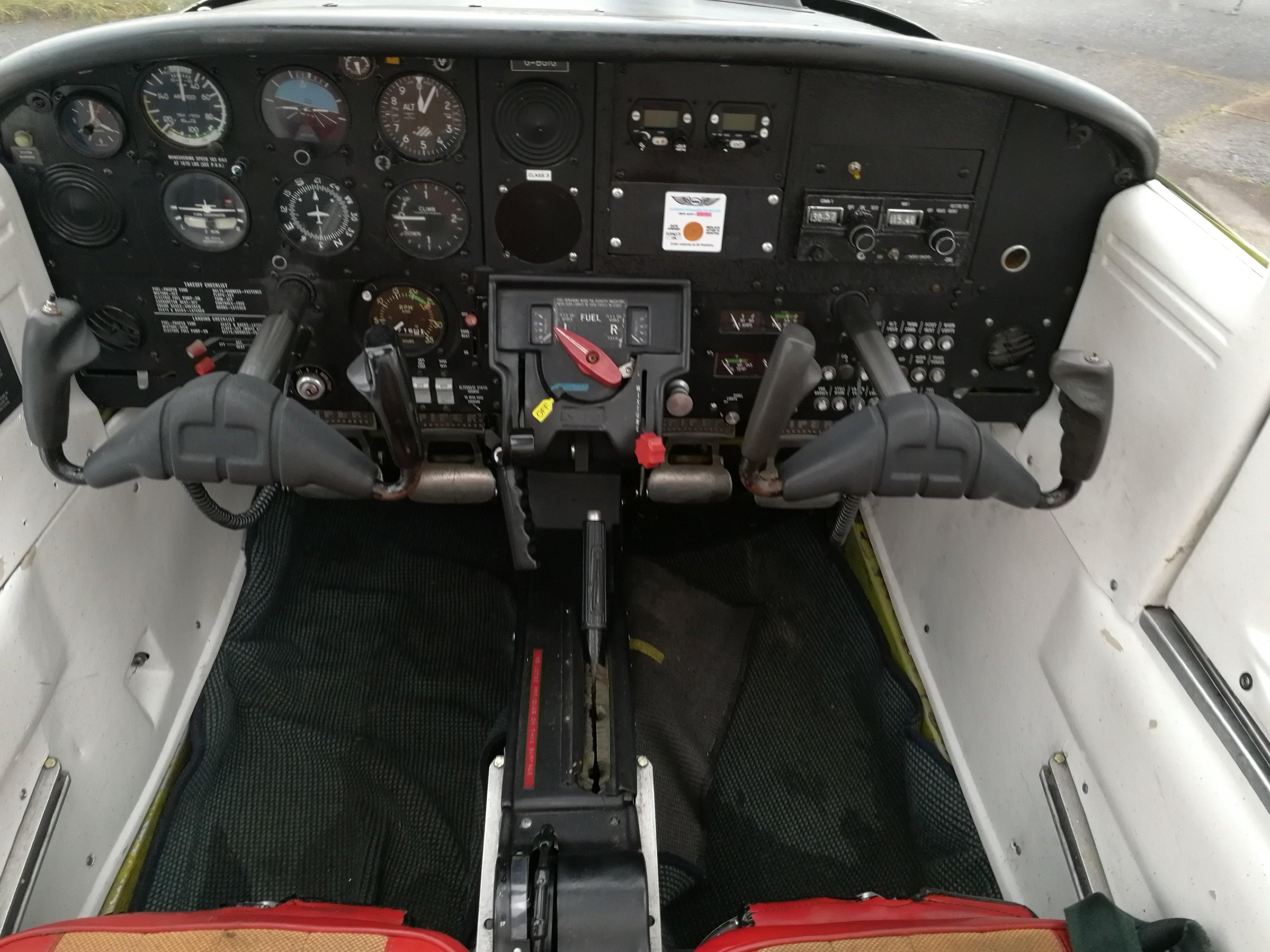 Piper Tomahawk Cockpit